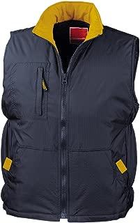 Result urbain homme ice bird rembourré veste sans manches-R193M