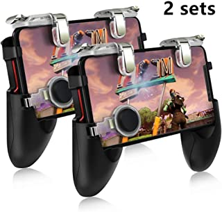 Pubg Game Gamepad For Mobile Phone Game Controller l1r1 Shooter Trigger Fire Button For IPhone For Free Fire (2set)