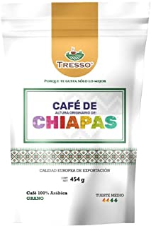 Tresso Café Chiapas Especialidad Europea, Sabor Dulce