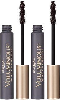 L'Oreal Paris Makeup Voluminous Original Volume Building Mascara, Blackest Black, 2 Count