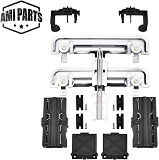 W10712395 Dishwasher Rack Adjuster Kit By AMI,Compatible with Whirlpool, Kenmore and KitchenAid,To Be Able To Replace W10712395VP, W10350375, AP5957560, PS10065979,W10250159, W10350375