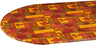 oblong elasticized tablecloth