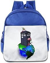 Ysov Dr Invader Zim Tards Gir Who Little Kid Preshool Backpack RoyalBlue