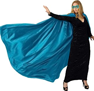 iROLEWIN Adults Superhero Cape Cloak for Men & Women with Mask Dress up Party Costumes