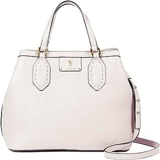 U.S. Polo Assn. Women's White Top Handle Bag