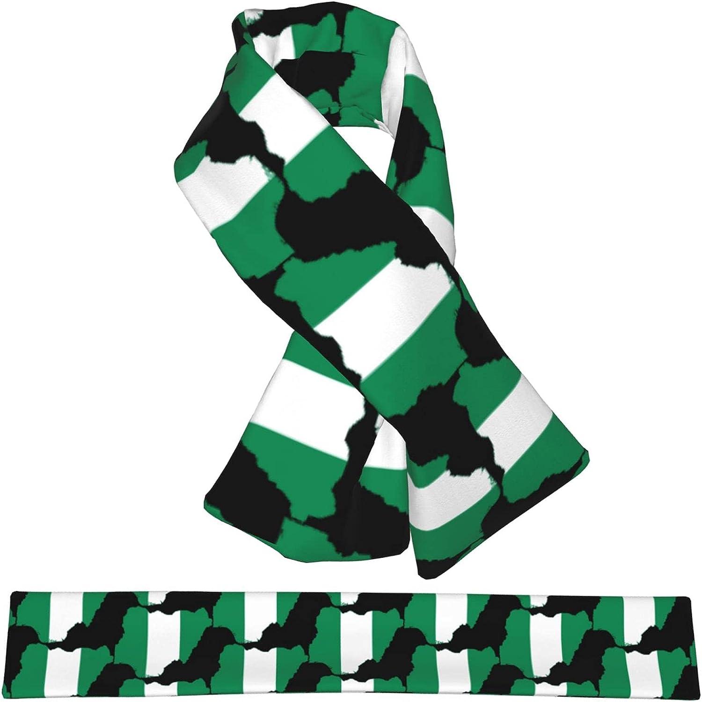 Flag Map Of Nigeria Lowest price challenge Flannel Discount is also underway Cross W Neck Scarf Wrap Collar Shawl