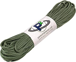 550 Mil-Spec Paracord - Outdoor Survival Parachute Cord (Mil-C-5040-H) - 100 Feet Length