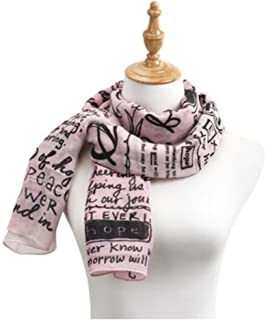 Ombre Women's One Size Polyester Twill Rectangle Fashion Scarf