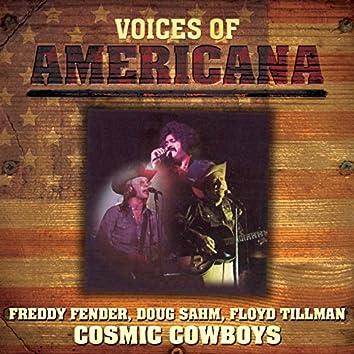 Voices Of Americana: Crazy Cajun's Cosmic Cowboys