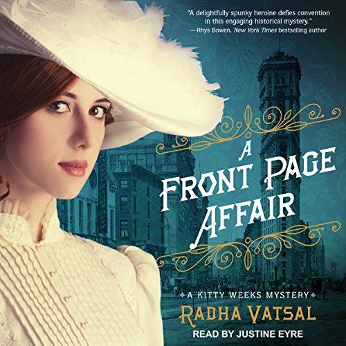 A Front Page Affair audiobook cover art