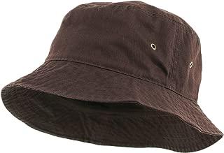 Unisex 100% Washed Cotton Bucket Hat Summer Outdoor Cap