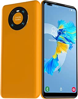 Mate60pro+5g 6.72-inch Full Screen Android Phone Gaming Smartphone Factory Unlocked Mobile Phone Cell Phone,Yellow