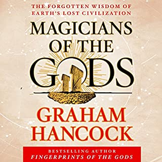 Magicians of the Gods audiobook cover art