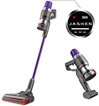 JASHEN Aspirador sin Cable, 350W Motor Digital Brushless 2500mAh Batería Extraíble de..