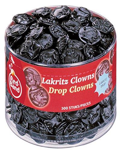 Red Band Lakritz Clowns, per stuk verpakt (1 x 1,15 kg)
