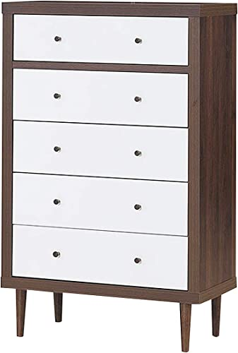 """2021 Giantex Drawer Dresser Wooden Chest W/Drawers, outlet online sale Sliding Rail and Stable Frame Antique-Style Free-Standing Chest for The Bedroom, Living Room, Hallway online Storage Cabinet Organizer (31"""" x 15.5"""" x 49"""") outlet online sale"""