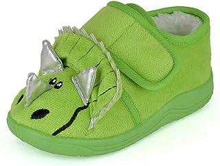 DINZIO Toddler Triceratops Slipper