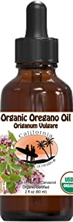 Oregano Oil - 2 oz Bottle - 100% Pure Certified Organic Oregano Oil from CAOH