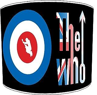 Premier Lighting Ltd 25cm The Who Rock Bands Abat-jour3 pour Une Lampe de Table
