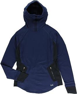 Under Armour Navy Blue Round Neck Hoodies For Women