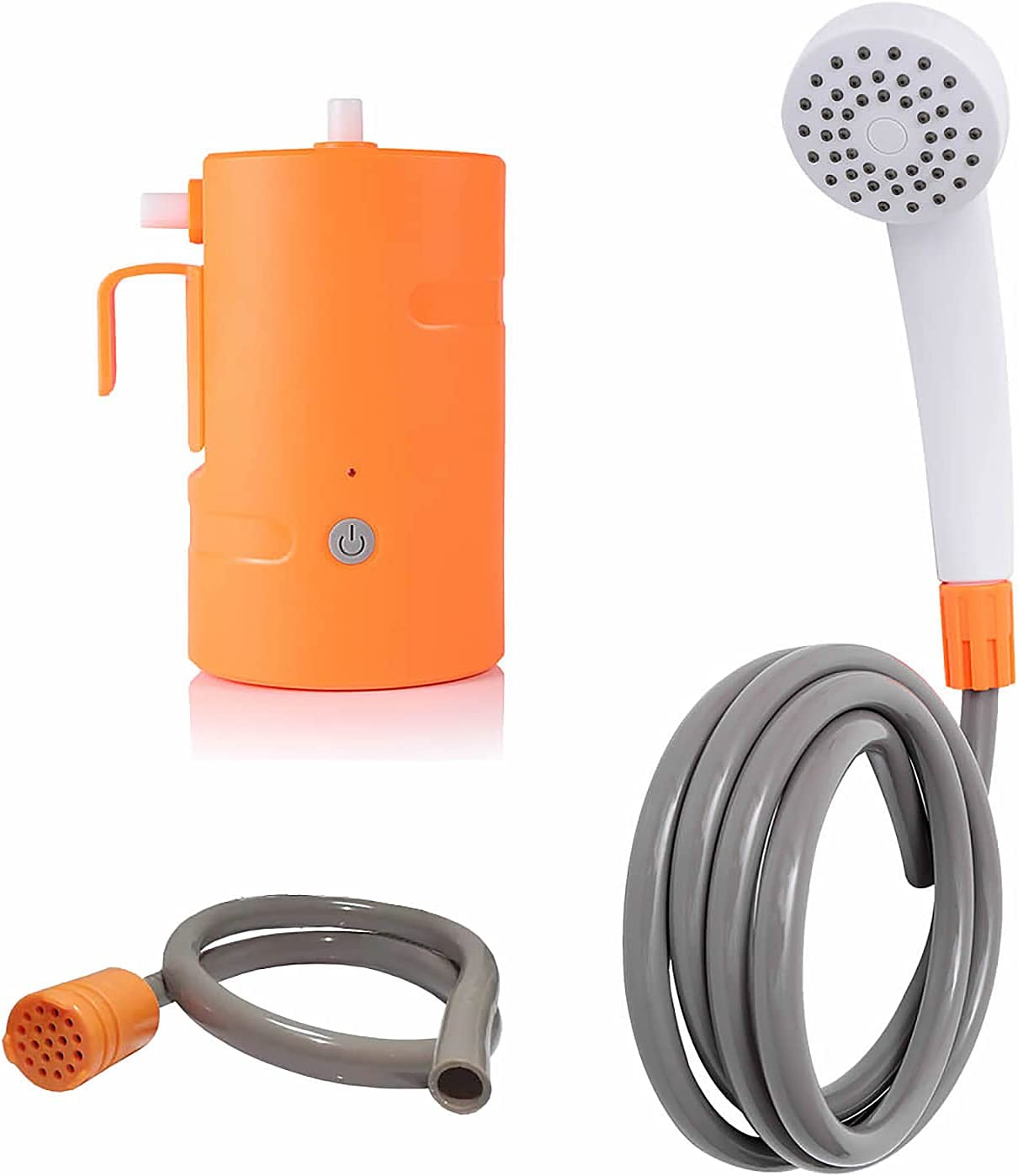 yidexin Courier shipping free shipping Rechargeable Outdoor Shower Camping USB San Diego Mall Sh