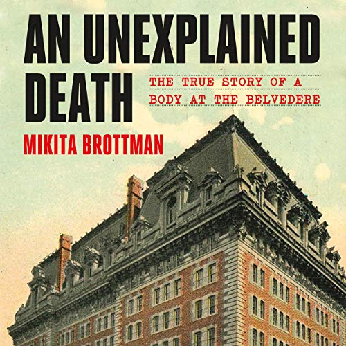 An Unexplained Death audiobook cover art