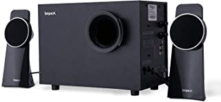 Impex 2.1 SPINTO 40 W Portable Multimedia Bluetooth Speaker System (Black), medium