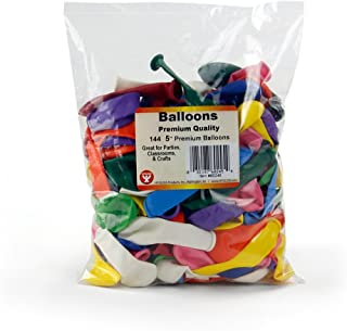 Hygloss Products Party Latex Balloons - Decorations for Birthdays, Parties, Special Events, Holidays and More - Assorted C...