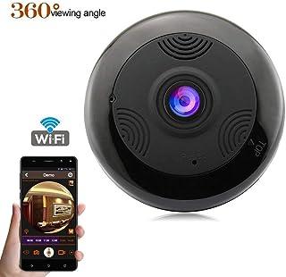 Camara Espia Ceiling Fisheye 1080P IP Camera 360 Degree Panoramic Wireless WiFi Home Security Camera Infrared Night Vision CCTV Camera