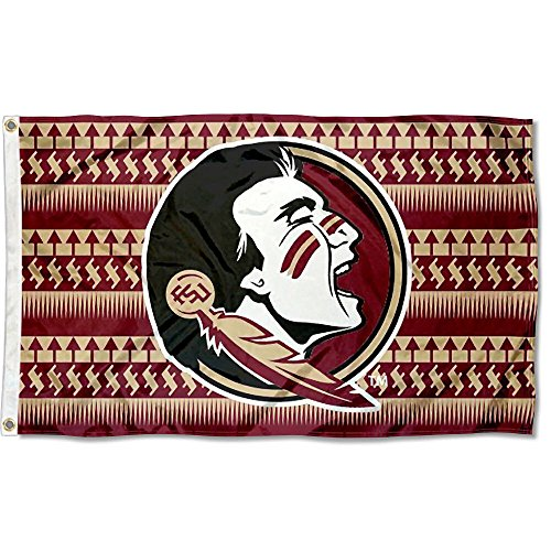 FSU Seminoles Chevron College Flag