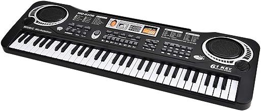 61-Key Digital Music Piano Keyboard, Keyboard Piano Kids Por
