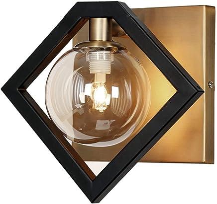 Dainolite gla-91?W-mb-vb 1ライト壁取り付け用燭台、マットブラック&ヴィンテージブロンズ仕上げ、シャンパンガラス