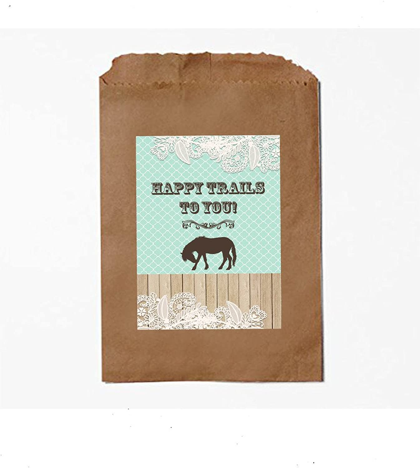Pony Adoption Party Decorations Invitations and Supply Kit Horse (Party Favor Bags)