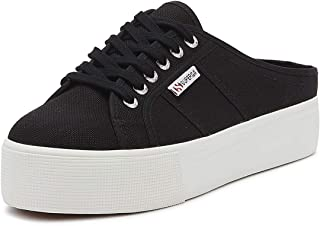 Superga 2284 Cotu Womens Black/White Trainers