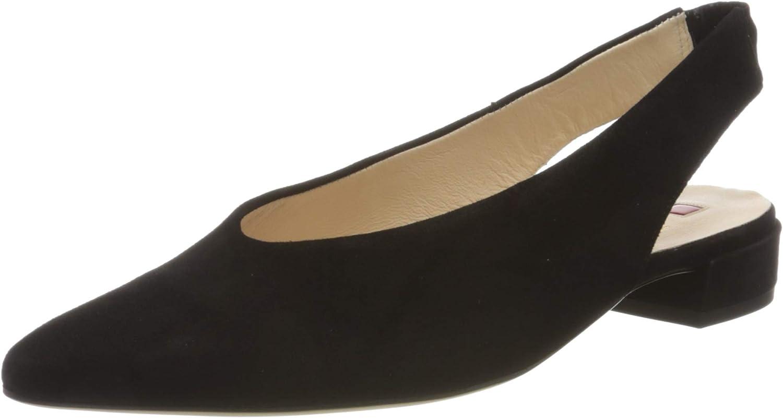 HÖGL Women's EASY Closed Toe Ballet Flats, Black Black 0100, 2.5 UK