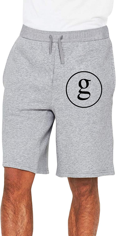 Zinmmerm Men's Casual GarthBrooksLogo Sweat Shorts