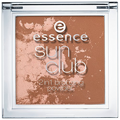 Essence Sun Club 2in1 bronzing powder Nr. 10 sunshine Inhalt: 10g Bronzing Puder und Highlighter...