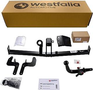 Westfalia abnehmbare Anhängerkupplung für 207 / 207 CC Cabrio (BJ ab 04/2006) im Set mit 13 poligem fahrzeugspezifischen Westfalia Elektrosatz