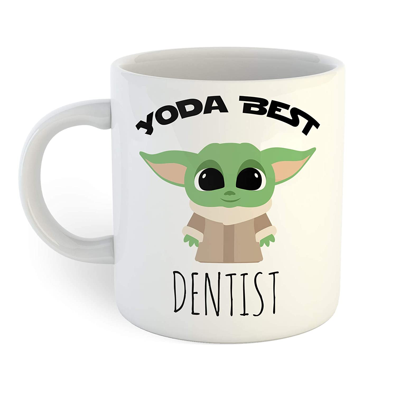 Yoda Dedication Best Dentist Mug Coffee Wholesale