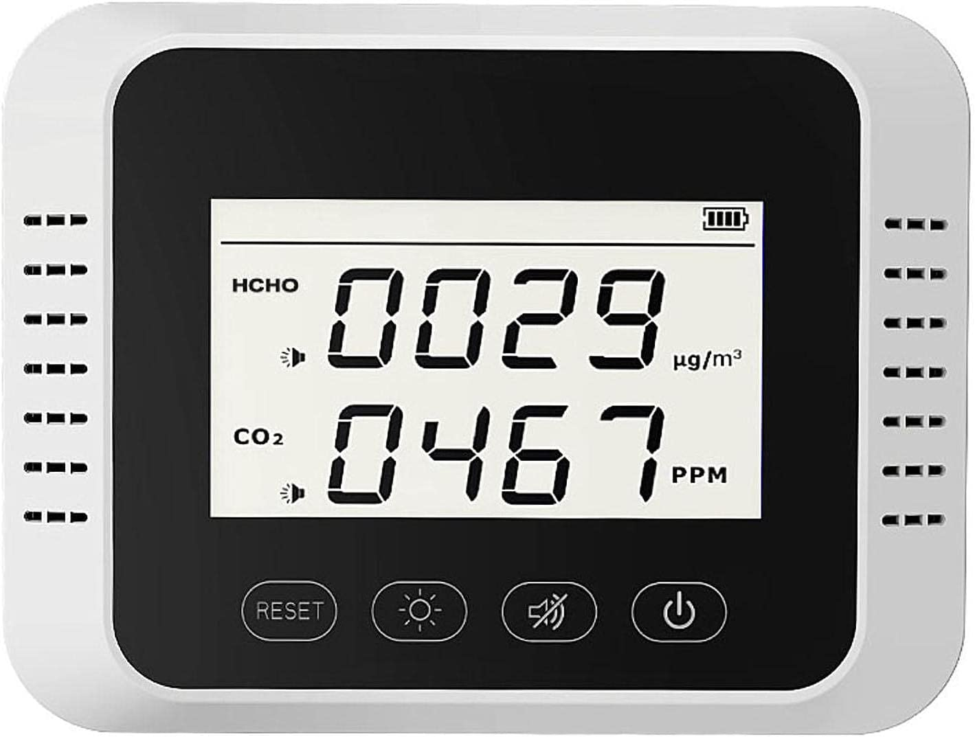 Handed CO2 Detector Carbon Dioxide Desktop 1 SEAL limited product 2 in Ranking TOP11