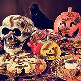 Neusky 160 Stücke Pflastik-Tierchen, Spinnen, Maden und Fliegen für Halloween, Karneval, Fastnacht, Fasching oder Thema Festival, Party und Dekoration (Halloween, 160Stück) - 6