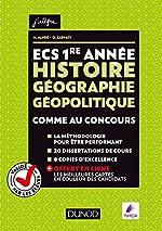 ECS 1re année - Histoire Géographie Géopolitique - Comme au concours - Comme au concours de Matthieu Alfré