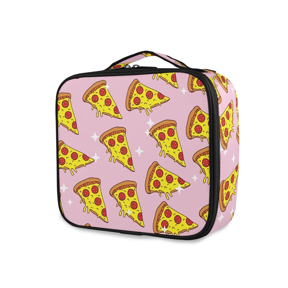 OTVEE Pizza Pattern Sweet Food Bag Cosmetic Ranking TOP20 Cheap super special price Travel La Makeup