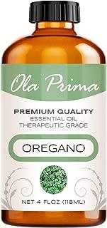 Ola Prima 4oz - Premium Quality Oregano Essential Oil (4 Ounce Bottle) Therapeutic Grade Oregano Oil