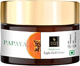Good Vibes Papaya Brightening Light Gel Cream (50 g)