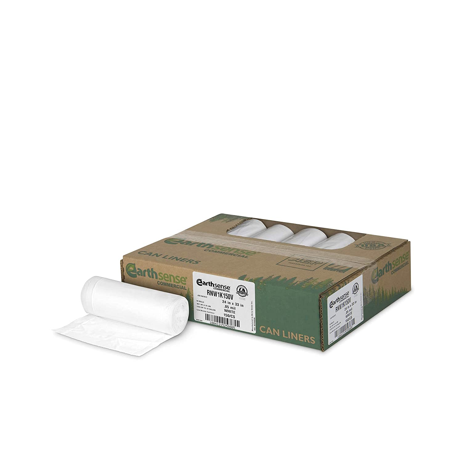 Earthsense Super popular specialty store Commercial Large special price !! RNW4015C Can Liner Gal 39