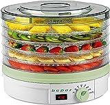 Deshidratador de frutas 90.506 blanco, Temperatura Ajustable 245W