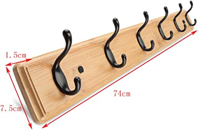 Amazon.com: Simple Floor Standing Coat Rack Tree Solid Wood ...