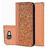 für Smartphone Samsung Galaxy A5 2017 Hülle, Leder Tasche