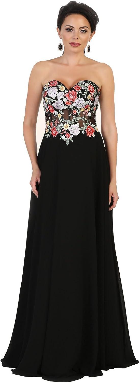 Royal Queen RQ7523 Prom Dance Strapless Evening Dress